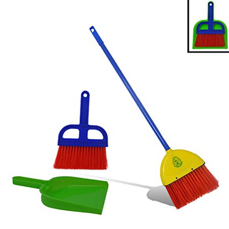Quot Childrens Broom And Dustpan Set By Laughing Lettuce Toy