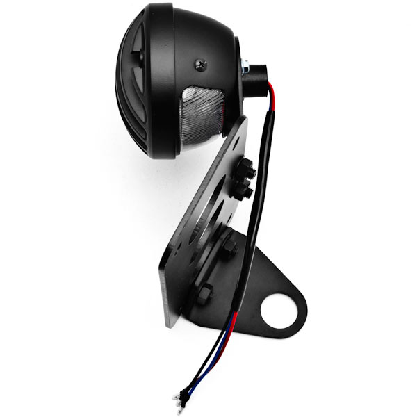NEW Black Axle Mount Taillight Horizontal Vertical For Yamaha Stratoliner Midnight Deluxe - image 7 de 8