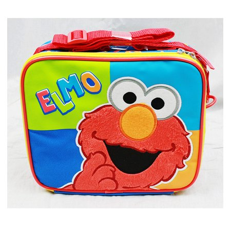 Lunch Bag - Sesame Street - Elmo (Blue/Green/Orange) New Boys Gifts ss11002