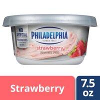 Philadelphia Strawberry Cream Cheese Spread, 7.5 oz Tub