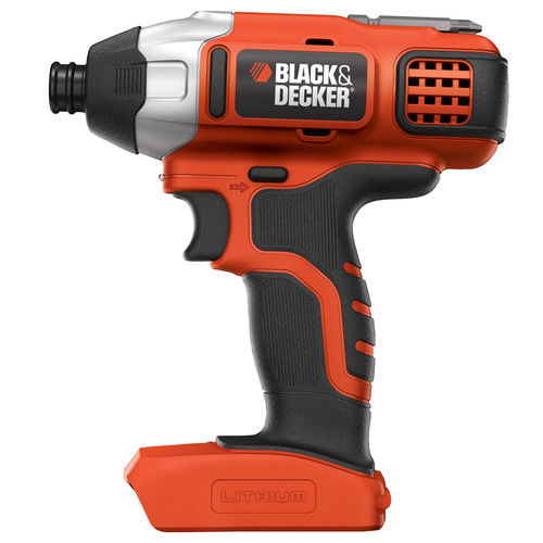 BLACK+DECKER BDCI20B 20V Cordless Lithium-Ion 1/4 in. Impact Driver (Bare Tool)