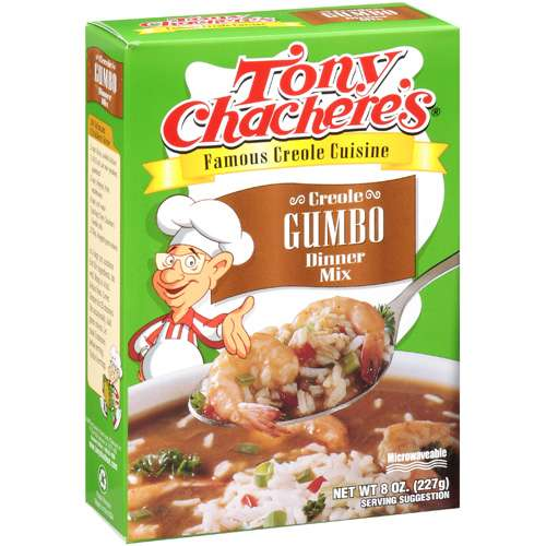 Tony Chachere's Dry Creole Gumbo Dinner Mix, 8 oz by Generic