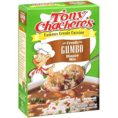 Tony Chachere's Dry Creole Gumbo Dinner Mix, 8 oz - Walmart.com
