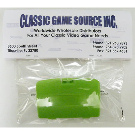 Lime Green Game Boy Color Replacement Battery Cover By Classic Game Source Game Boy Colored Battery
