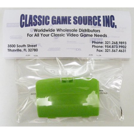(Lime Green Game Boy Color Replacement Battery Cover By Classic Game Source)