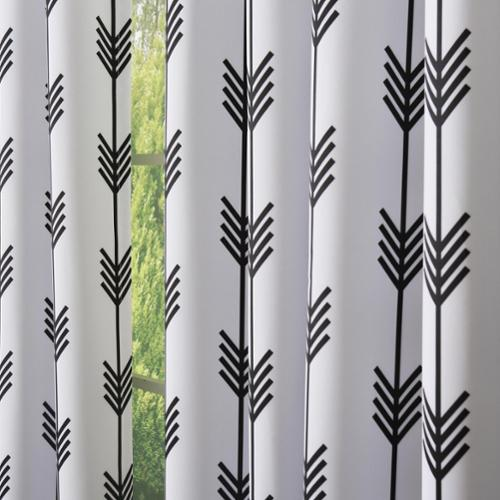 Aurora Home Arrow Room Darkening Grommet Curtain Panel Pair   Walmart.com