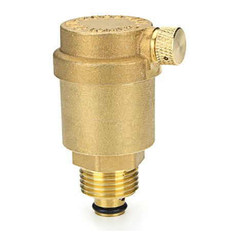 TMOK TK901 Brass automatic exhaust valve Heating pipe fast exhaust valve - image 4 de 4