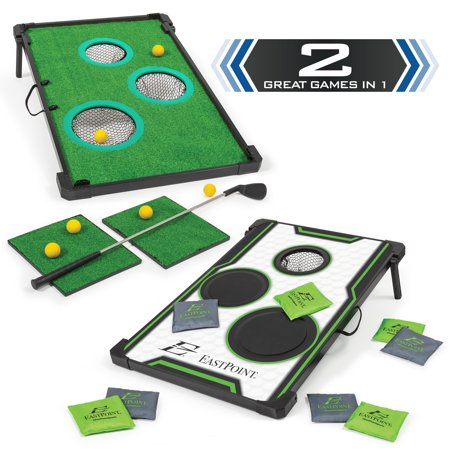 Groovy Eastpoint Sports 2 In 1 Chip N Score Bean Bag Toss Golf Ibusinesslaw Wood Chair Design Ideas Ibusinesslaworg