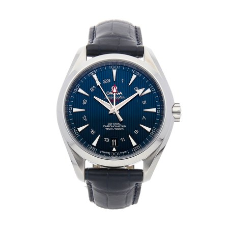 Pre-Owned Omega Seamaster Aqua Terra GMT 231.13.43.22.03.001 Watch (Majority of Time Remaining on Factory Warranty)