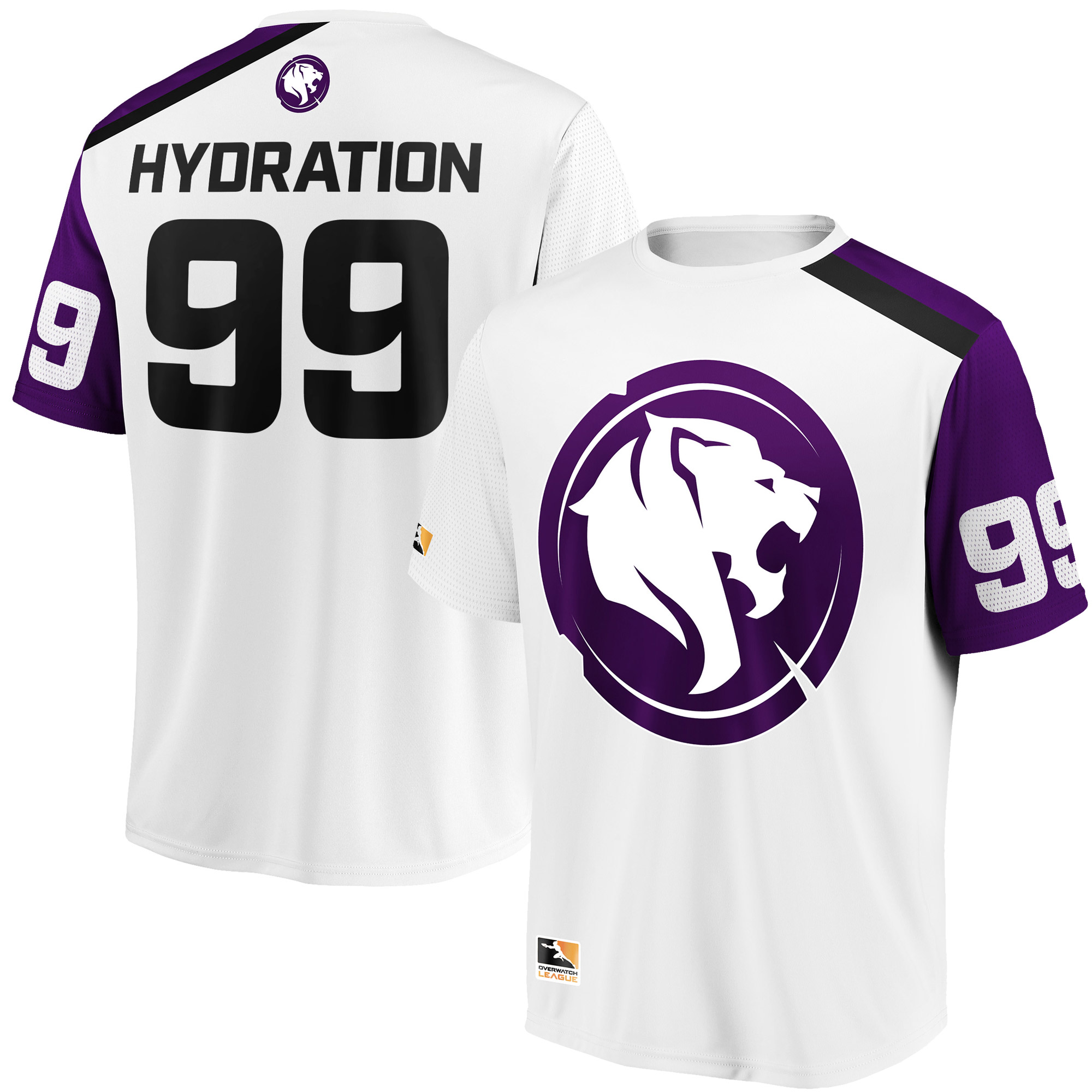 Hydration Los Angeles Gladiators Overwatch League Replica Away Jersey - White
