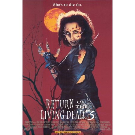 Return Of The Living Dead 3  1993  11X17 Movie Poster