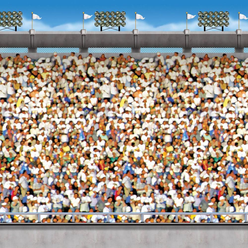 (6ct) Football Party Upper Deck Stadium Backdrop