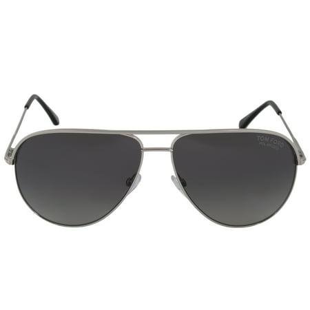 dc2313635d5fc Tom Ford - Tom Ford Erin Aviator Sunglasses FT0466 17D 59 POL ...