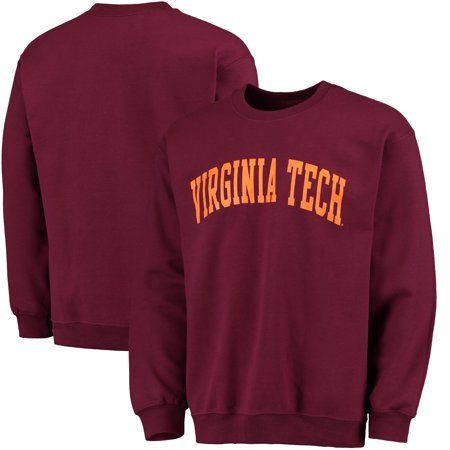 Virginia Tech Hokies Fanatics Branded Basic Arch Sweatshirt - Maroon