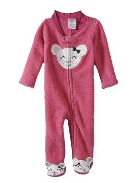 5d90874c89cb Little Wonders Baby Girls One-piece Pajamas - Walmart.com