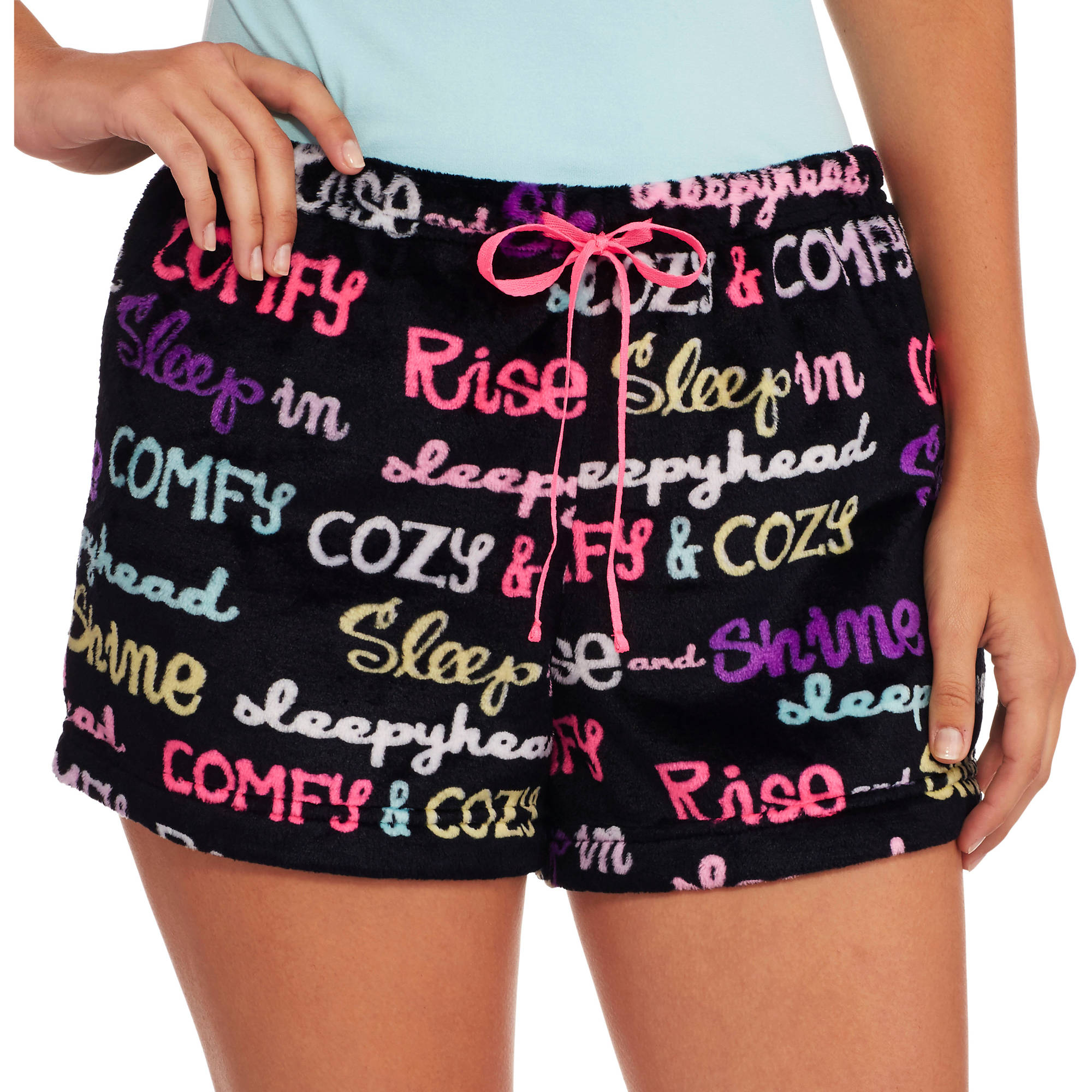 Secret Treasures Women's Super Minky Plush Pajama Sleep Shorts