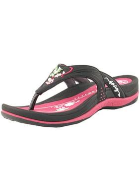 25882ba3be3f9 Product Image GP5893W Women Comfort Flats Outdoor Water Flip Flop (Size  5-9.5)
