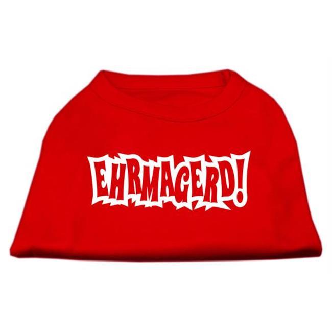 Ehrmagerd Screen Print Shirt Red Lg (14) - image 1 de 1