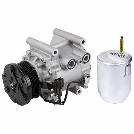 AC Compressor w/ A/C Drier For Jaguar S-Type & Lincoln LS