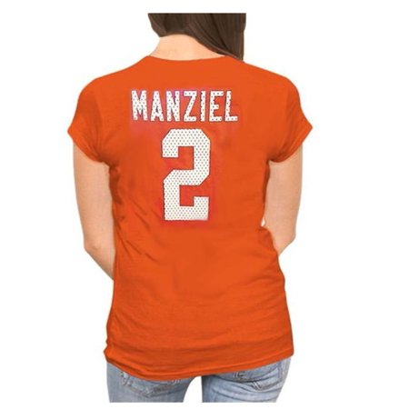Majestic Women's Johnny Manziel Browns Her Crush T Shirt, Plus Sizing, L