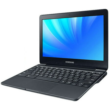"Samsung 11.6"" Chromebook 3, Intel Celeron, 2GB Memory, 16GB Storage, HDMI, Webcam, 11 Hour Battery Life, Black"