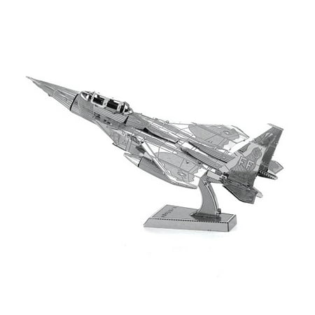- Fascinations Metal Earth Boeing F-15 Eagle Airplane 3D Metal Model Kit