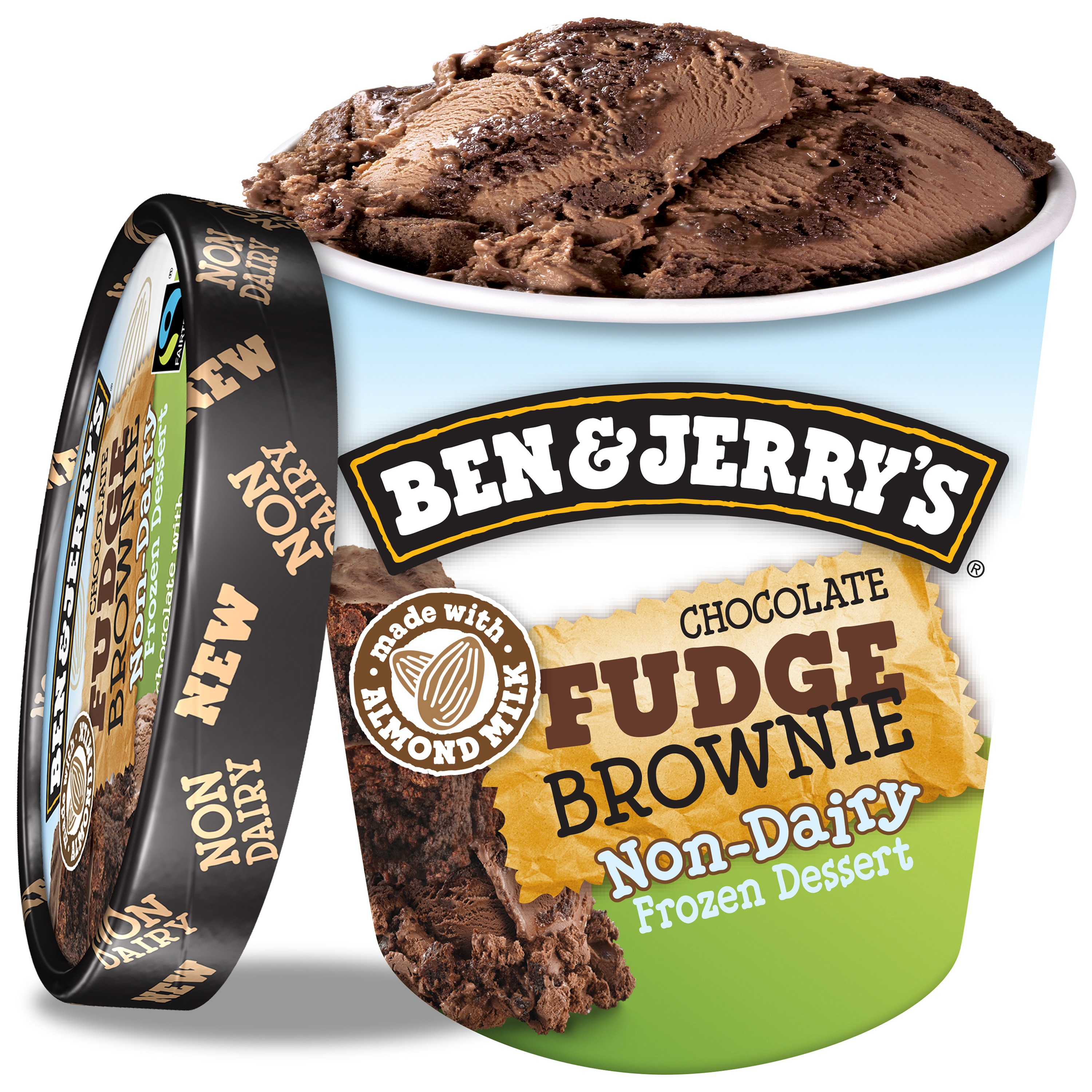 Ben & Jerry's Non-Dairy Chocolate Fudge Brownie 16 oz