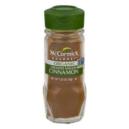 (2 Pack) McCormick Gourmet Organic Ground Saigon Cinnamon, 1.25