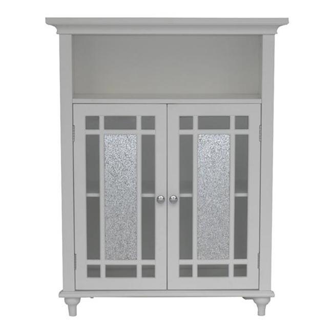 Elegant Home Fashions  Windsor Double Door Floor Cabinet - White - image 1 of 1