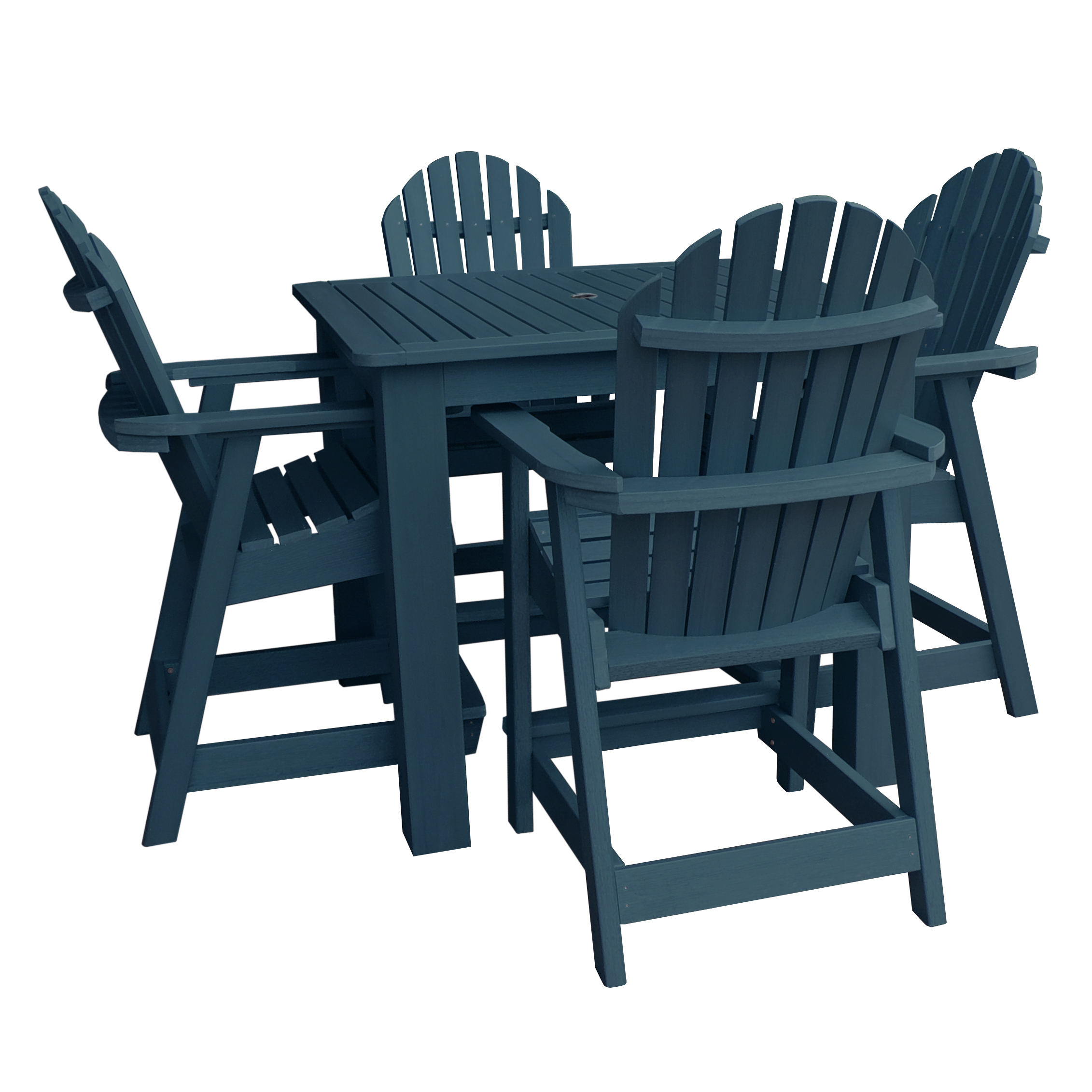 highwood® Eco-Friendly Hamilton 5pc Square Counter Dining Set