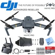 78ab970c573 DJI Mavic Pro Quadcopter Drone with 4K Camera and Wi-Fi + Virtual Reality  Experience Bundle