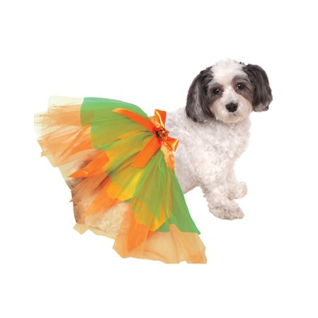 Pumpkin Tutu Pet Dog Cat Orange Halloween Ballet - Halloween Cheese Ball Cat