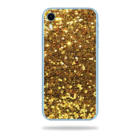 Skin For Apple iPhone XR - Gold Dazzle   MightySkins Protective, Durable, and Unique Vinyl Decal wrap cover   Easy To Apply, Remove, and Change Styles