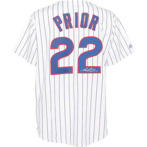 MLB - Mark Prior Autographed Jersey