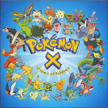 Pokemon X: Ten Years Of Pokemon Soundtrack Pokemon X: Ten Years Of Pokemon Soundtrack