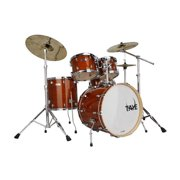 Taye SM522S-SPK-GA 5 Piece 22 in. StudioMaple Stage Drum Shell Pack, Golden Amber