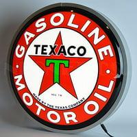 """Neonetics Texaco Motor Oil Backlit LED Lighted Sign, 15"""""""