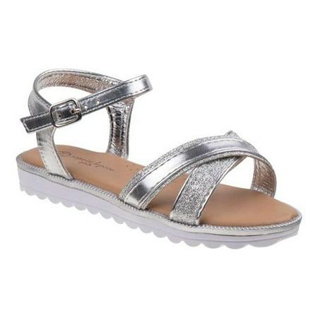 Girls' Nanette Lepore NL81678S Criss Cross Strappy Sandal