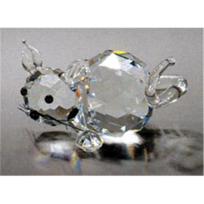 Asfour Crystal 634-20 1. 49 L x 0. 94 H inch Crystal Cat Animals Figurines