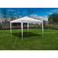 Anself 9.8'x9.8' Pyramid-Roof Garden Gazebo Outdoor Pergola sun shade with Canopy