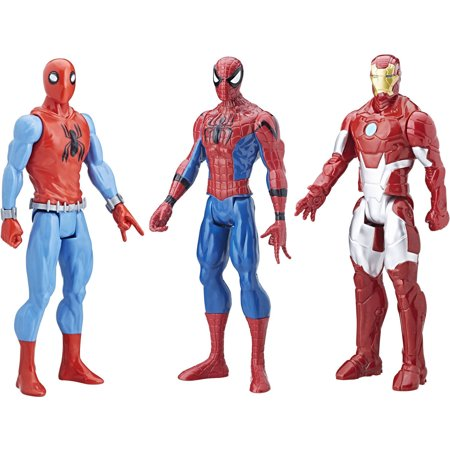 Spider Man  Homecoming Titan Hero Series 3 Pack