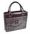 Purple Croc-Embossed, Purse Style (Other)