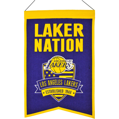 NBA Nations Banner, Los Angeles Lakers