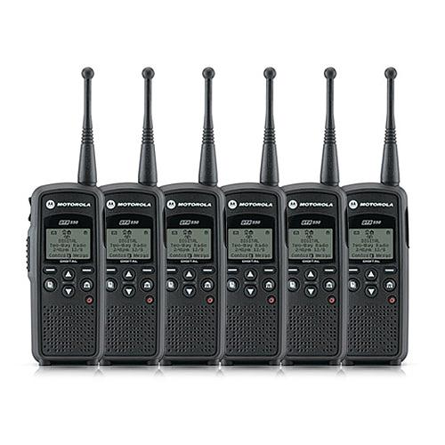 """Motorola DTR550 6 Pack Portable Digital Radio"" by MOTOROLA"
