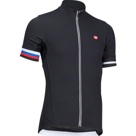 - Men's Forza Cycling Jersey Black LG