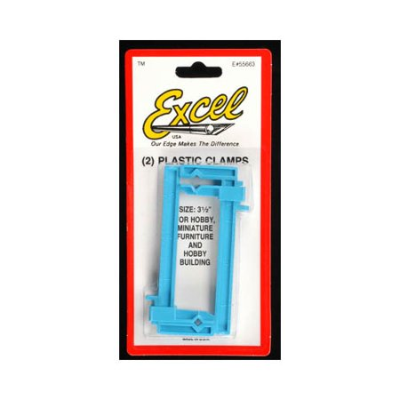 Excel Hobby Blade Corp Small Clamps, 1