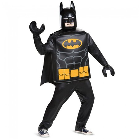 Disguise Lego The Batman Movie Batman Deluxe Adult Costume - Lego Costume Adult