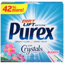 Laundry Detergent: Purex with Crystals Fragrance