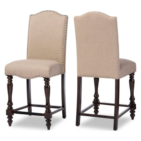 Baxton Studio Zachary Chic French Vintage Dining Chair - Set of 2 ()