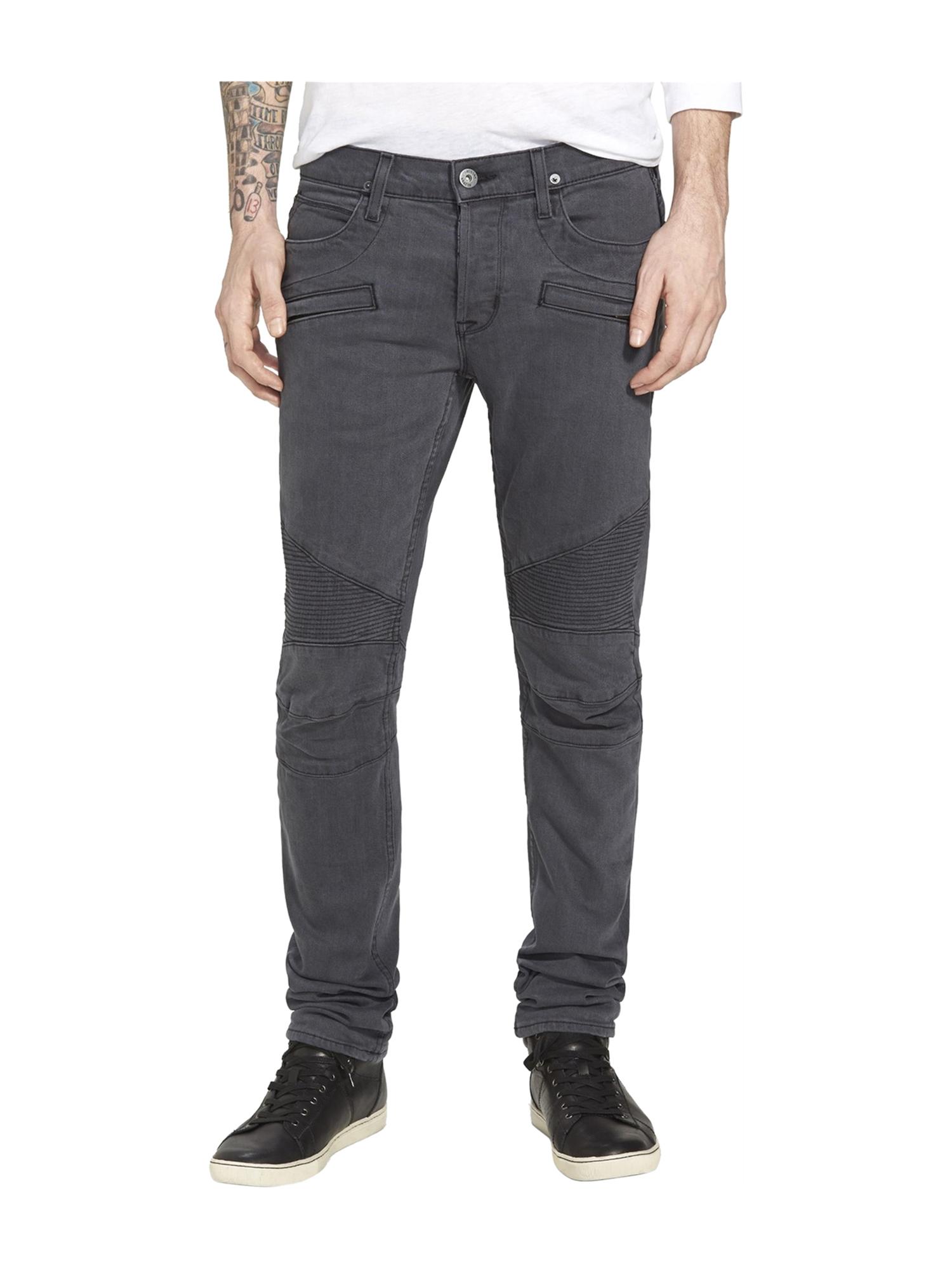 Hudson Mens Biker Skinny Fit Jeans abys 34x34